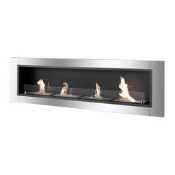 IGNIS - Ignis Bio Ethanol Fireplace Accalia With Safety Glass - *Design Patent Pending - 29/469,483