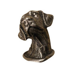 Anne at Home Hardware - Labrador Cabinet Hardware - Customize your kitchen with canine style. This beautiful pewter lab — available as a cabinet knob or a drawer pull — is crafted in the USA to celebrate your favorite breed while adding flair to your decor.