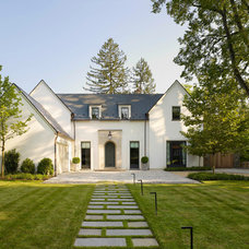 Transitional Exterior by Anne Decker Architects, LLC