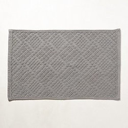 "Anthropologie - Terry Quilted Bathmat - By CoyuchiOrganic cottonMachine wash34""L, 21""WImported"