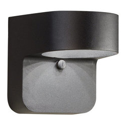 "Kichler - Kichler 11077BKT 6"" Energy Efficient LED Outdoor Wall Light - Kichler 1107 Modern LED Outdoor Light"