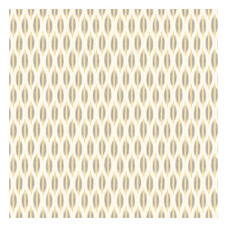 Gray & Yellow Ikat Dot Sateen Fabric - Ikat dot in gray & gold on the softest white cotton sateen. As cute as it is contemporary.Recover your chair. Upholster a wall. Create a framed piece of art. Sew your own home accent. Whatever your decorating project, Loom's gorgeous, designer fabrics by the yard are up to the challenge!