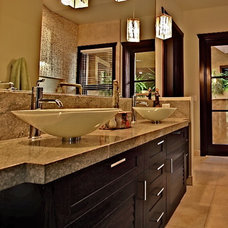 Contemporary Bathroom by Studio ~M~ Interior Design & Architecture