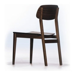 "Greenington - Currant Bamboo Side Chair (Set of 2) - This unique style completes traditional decor as well as contemporary. The stylish, elegant, and airy Currant collection is reminiscent of vintage Mid-Century Danish Modern styling. Features: -Material: 100% Bamboo.-High quality.-Certificated: ISO 9000 and ISO 14000.-Fully sustainable, environmentally friendly.-Currant collection.-Collection: Currant.-Distressed: No.-Powder Coated Finish: No.-Frame Material: Bamboo.-Solid Wood Construction: Yes.-Number of Items Included: 2.-Non-Toxic: Yes.-Scratch Resistant: Yes.-Rust Resistant: Yes.-Arms Included: No.-Upholstered Seat: No.-Upholstered Back: No.-Number of Legs: 4.-Leg Material: Bamboo.-Eco-Friendly: Yes.Specifications: -FSC Certified: Yes.-ISO 14000 Certified: Yes.Dimensions: -Overall Height - Top to Bottom: 33.5"".-Overall Width - Side to Side: 20"".-Overall Depth - Front to Back: 23"".-Seat Height: 17.5"".-Seat Depth - Front to Back: 22"".-Arms: No.-Overall Product Weight: 20.9 lbs.Assembly: -Assembly Required: No."