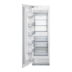 """Thermador Freedom 24"""" Built-in Fully Flush Freezer, Custom Panel 