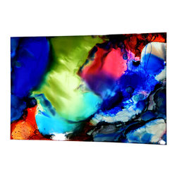 This is an original piece Direct from Artist - Jon Allen - Vivid Vision - Original painting by Jon Allen - Abstract, Bright Colors, Modern - Vivid Vision | by Jon Allen