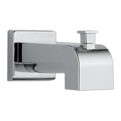 Delta - Delta RP53419Delta Tub Spout - Pull-Up Diverter (Chrome) - With its large assortment of accessories and styles, the Delta series is sure to have the perfect combination of products for any application.
