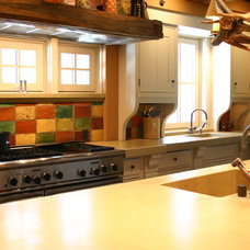Modern Kitchen Countertops by Concreteworks