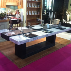 Contemporary Dining Tables by Ogle, luxury kitchens, Bathrooms & Stonework