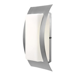 Access Lighting - Eclipse 1-Light Outdoor Wet Location Wall Fixture - Eclipse 1-Light Outdoor Wet Location Wall Fixture