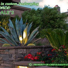 Contemporary  by CHIP-N-DALE'S CUSTOM LANDSCAPING