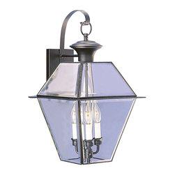 Livex Lighting - Livex Lighting 2381-04 Outdoor Lighting/Outdoor Lanterns - Livex Lighting 2381-04 Outdoor Lighting/Outdoor Lanterns
