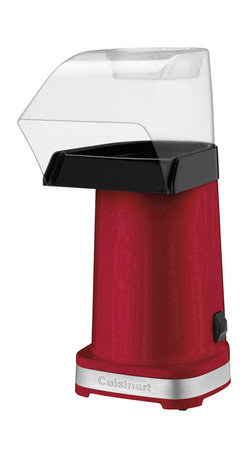 Cuisinart - Cuisinart 1500-Watt EasyPop Hot Air Popcorn Maker, Red - Makes up to 10 cups of popcorn under 3 minutes
