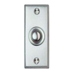 Smedbo - Smedbo Door Bell Brushed Chrome - Smedbo Door Bell Brushed Chrome