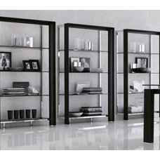 Traditional Bookcases by Spacify Inc,