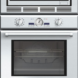Professional Series 30-Inch Triple Combination Wall Oven - Convection two ways, plus a warming drawer. Our Triple Combination Oven gives you the flexibility of a True Convection oven, Kitchen a convection microwave, and a convenient warming drawer.