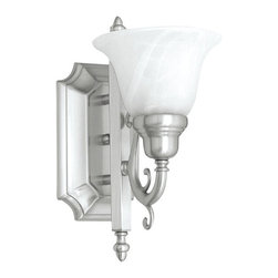 Livex - French Regency Bath Light, Brushed Nickel - 1281-91