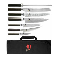 Shun - Shun Classic 8 Pc Student Knife Set - Includes: