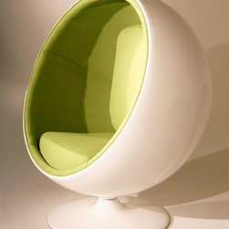 Ball Chair, Green -