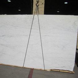 Royal Stone & Tile Slab Yard in Los Angeles - Royal Stone & Tile in Los Angeles has slabs of Italian Calacatta Marble