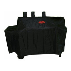 CHAR-GRILLER - Duo Grill Cover - Protect your BBQ grill with the custom fit cover made from weather resistant polyester and a pvc lining to help fight the elements. Fits Char-Griller Duo model no. 5050 (sku no. 979.5535) equipped with the side burner. Dimensions: 62''L x 25''D x 50''H. E xtends grill lifetime. Protects grill from sun, rain, birds, etc. This item cannot be shipped to APO/FPO addresses. Please accept our apologies