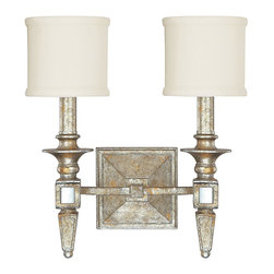 Capital Lighting - Capital Lighting 8482SG-535 Palazzo 2 Light Bathroom Wall Sconce - Capital Lighting 8482-535 Features: Capital Lighting 8482-535 Specifications: A family-owned company located just outside Atlanta, Georgia, Capital Lighting prides itself in delivering stylish, high-quality products at affordable prices.