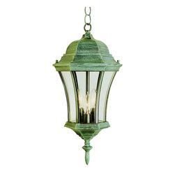 Trans Globe - Trans Globe 4505 RT 3-Light Hanging Lantern - Trans Globe 4505 RT 3-Light Hanging Lantern