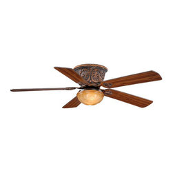 "Vaxcel - Vaxcel FN52317AR Corazon 52"" Flush Mount Ceiling Fan Aged Bronze - Vaxcel FN52317AR Corazon 52"" Flush Mount Ceiling Fan Aged Bronze"