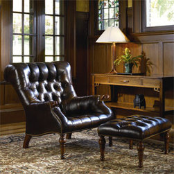 Stickley Leopold's Chair (Leather) 96-9328-CH -
