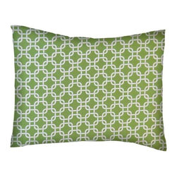SheetWorld - SheetWorld Twin Pillow Case - Percale Pillow Case - Citrus Links - Made in USA - Pillow case is made of a durable all cotton percale/woven material. Fits a standard twin size pillow. Side Opening. Features a citrus links print.