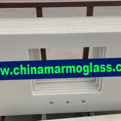 Crystallized White Glass Slab - Crystallized White Glass Slab, A professional manufacturer of Crystallized White Glass Slab,Crystallized White Glass Slab factory Crystallized Glass Stone Super Thassos Glass slab from China Marmoglass Co.,Limited