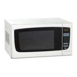 "Avanti - 1.4 Cubic-Foot 1000W Microwave White - Avanti MO1450TW - 1.4 CF Electronic Microwave with Touch Pad. Features: 1.4 Cu. Ft. microwave. 1000 Watts of Cooking power. Electronic control panel. One touch cooking programs. Speed defrost. Cook/defrost by weight. Kitchen timer. Unit dimensions: 12.25"" H x 21.75"" W x 18"" D"