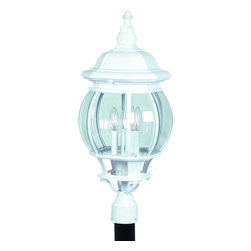 Artcraft Lighting - Artcraft Lighting AC8493BK Artcraft Lighting AC8493WH White Classico 4-Bulb Line - Lamping Technology: