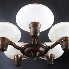 Contemporary Chandeliers by HARRIS HOUSE ANTIQUE LIGHTING