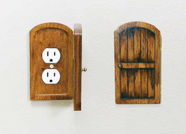 Eclectic Switches And Outlets by Etsy