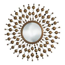 Cyan Design - Cyan Design 01878 Chandler Round Mirror - Cyan Design 01878 Chandler Round Mirror