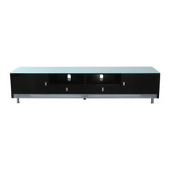 this 83 inch low profile entertainment cabinet is sure to be the talk ...