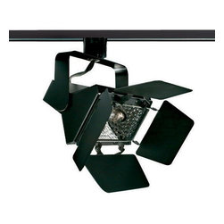 Juno Lighting - Trac-Master T366 Halogen Flood Track Light - Special Accent Lights and Floods are designed for applications requiring controlled light, higher intensities and wattages.