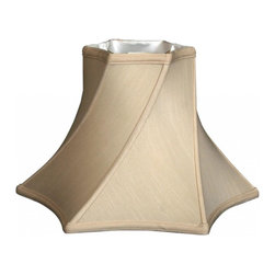 Royal Designs, Inc. - Twisted Hexagon Bell Basic Lampshade - This Twisted Hexagon Bell Basic Lampshade is a part of Royal Designs, Inc. Timeless Basic Shade Collection and is perfect for anyone who is looking for a traditional yet stunning lampshade. Royal Designs has been in the lampshade business since 1993 with their multiple shade lines that exemplify handcrafted quality and value.