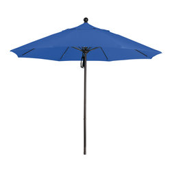 California Umbrella - 9 Foot Pacifica Fabric Aluminum Pulley Lift Patio Market Umbrella, Bronze Pole - California Umbrella, Inc. has been producing high quality patio umbrellas and frames for over 50-years. The California Umbrella trademark is immediately recognized for its standard in engineering and innovation among all brands in the United States. As a leader in the industry, they strive to provide you with products and service that will satisfy even the most demanding consumers.