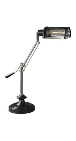 Uttermost - Barnsley Desk Lamp - Q. When is a desk lamp not a desk lamp?