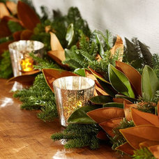 Traditional Wreaths And Garlands by Pottery Barn