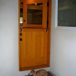 Dutch Door With Shelf Craftsman Style Dutch Door With