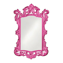 Howard Elliott - Howard Elliott Monte Paraiso Glossy Hot Pink Mirror - Monte paraiso glossy hot pink mirror