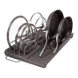 Slide Out Lid and Pan Organizer