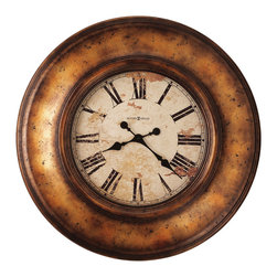 "Howard Milller - Howard Miller Contemporary Large 29-1/2"" Quartz Wall Clock 