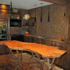 Eclectic Kitchen by Benvenuti and Stein