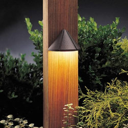 """Kichler - Kichler 15065AZT Six Groove Path & Spread Light 15065AZT - Textured Architectural Bronze finishBulb Included: Yes Collection: Six Groove Finish: Textured Architectural Bronze Height: 2.5"""" Primary Number of Lights: 1 Primary Wattage: 6.5 Watt Socket 1 Base: Wedge Socket 1 Max Wattage: 7 Style: Transition Switch Type: B Type: Land Deck Light Voltage: 12 Volt Width: 4"""""""