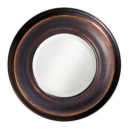 www.essentialsinside.com: dublin round framed wall mirror - Dublin Round Framed Wall Mirror by Uttermost, available at www.essentialsinside.com