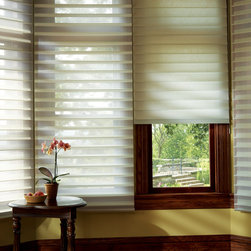 Silhouette® Quartette® window shadings with EasyRise™ cord loop - Hunter Douglas Silhouette® Collection Copyright © 2001-2012 Hunter Douglas, Inc. All rights reserved.